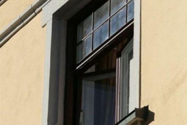 Из окна краевой клинической больницы в барнауле выпал мужчин.