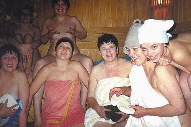 Жену хором в бане думаю