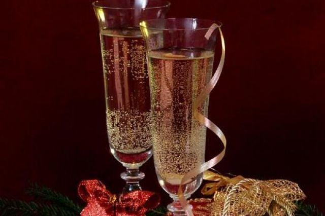 Как похудеть с шампанским