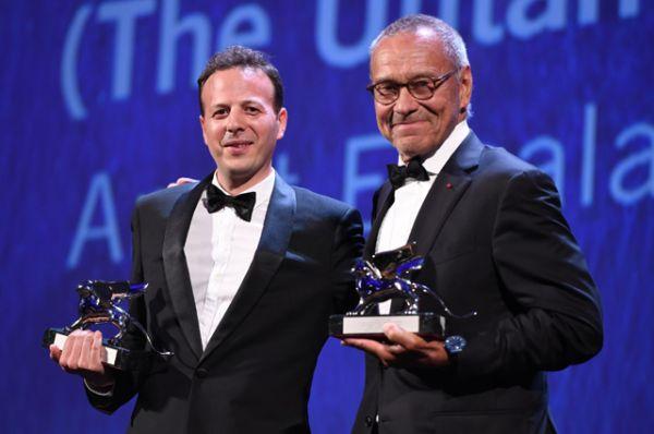 Амат Эскаланте («Дикая местность») и Андрей Кончаловский («Рай») получают награды за лучшую режиссерскую работу.