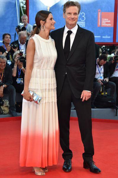 Колин Ферт и Ливия Джуджолли на премьере драматического триллера «Под покровом ночи».