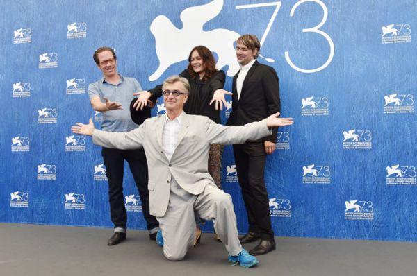 Режиссер Вим Вендерс представил в Венеции свой новый фильм «Прекрасные дни в Аранхуэсе».