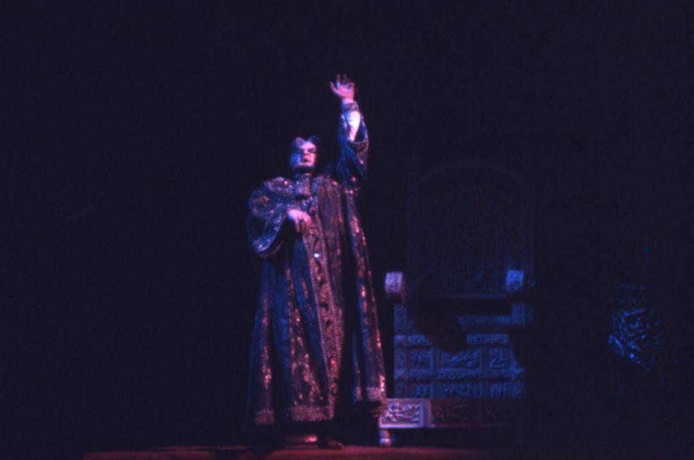 Постановка оперы «Борис Годунов» в Большом театре.