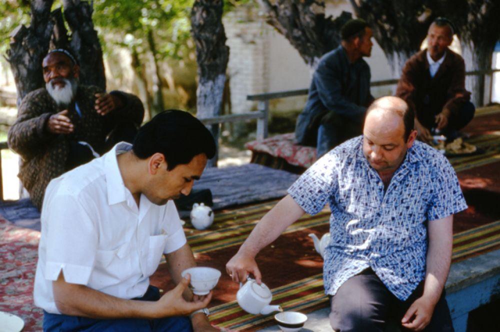 Чайный домик в Ташкенте.