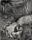Иллюстрация Гюстава Доре к изданию сказки «Рике с хохолком», XIX век.