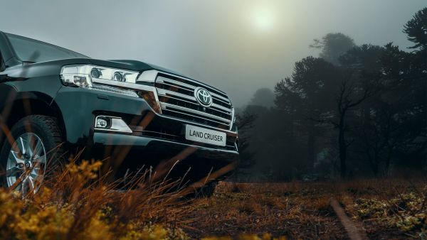 7 место: Toyota Land Cruiser