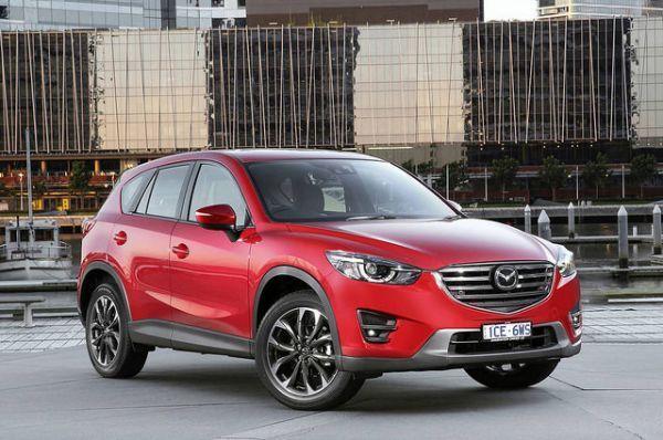 4 место: Mazda CX-5
