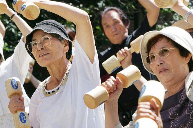 В Японии умеют жить, не старея.