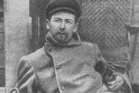Антон Павлович Чехов в 1897 году.