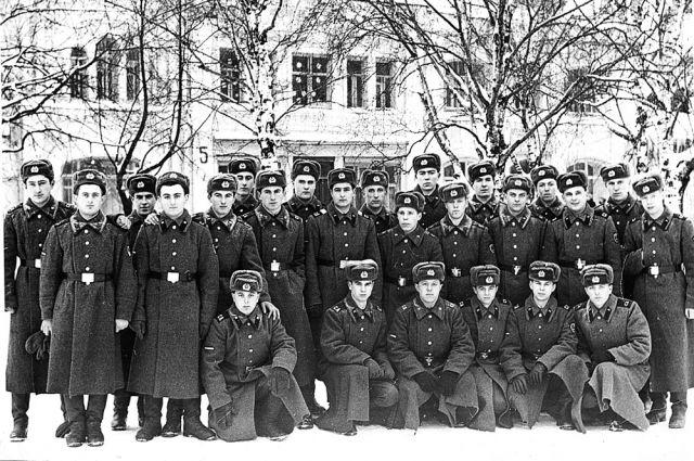 Новобранцы, Вологда, 1977 год.