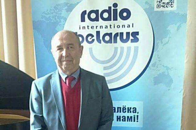 Главный директор Международного Радио «Беларусь» Наум ГАЛЬПЕРОВИЧ