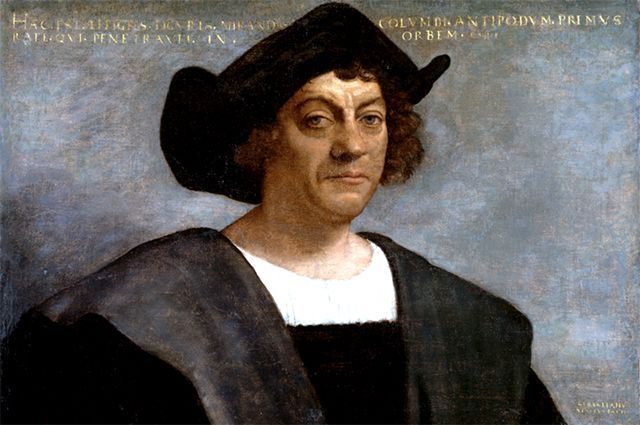 Христофор Колумб. Посмертный портрет кисти Себастьяно дель Пьомбо. © / Public Domain