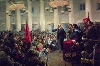 Награду так и не присудили. Картина «Выступление В.И. Ленина».