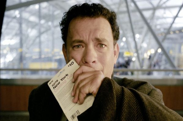 Мелодрама «Терминал» (2004 г.) стала еще одним совместным проектом Тома Хэнкса и Стивена Спилберга.