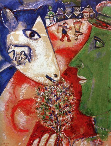 ФРАНЦИЯ. Предмет гордости: Марк Шагал. Наш след: один из самых известных представителей художественного авангарда XX века Марк Шагал родился и формировался как художник в Витебске.