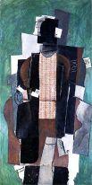 Всё это приводит художника к кульминации сюрреализма в кубизме – периоду синтетического кубизма. От предыдущих работ Пикассо новый цикл отличает обилие цвета и усиление конкретики. Изображённые объекты по-прежнему деформированы.