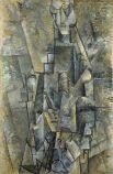 Аналитический кубизм позволяет Пикассо отточить собственный почерк, художник находит в себе силы формировать собственное видение реальности на своих полотнах. Палитра Пикассо всё больше тяготеет к монохромности.