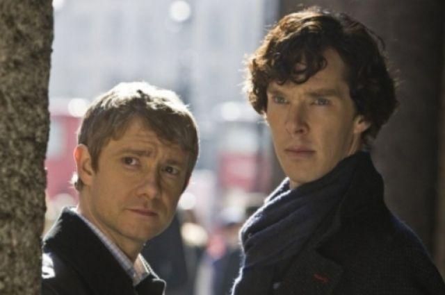 Новый сезон сериала «Шерлок» выйдет наэкраны вначале года 2017г