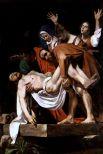 Для церкви Кьеза Нуово Караваджо создал шедевр «Положение во гроб» (1603), который будут копировать многие художники от Рубенса до Сезанна.