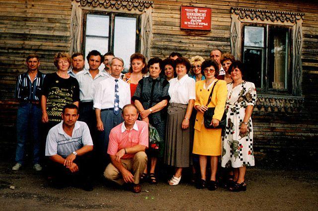 Встреча бывших одноклассников Техтинской СШ Белыничского района Могилевской области.