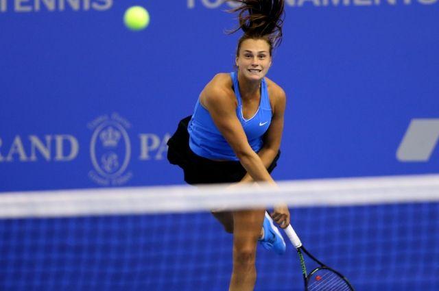 Белорусская теннисистка Арина Соболенко вышла вфинал турнира вЯпонии