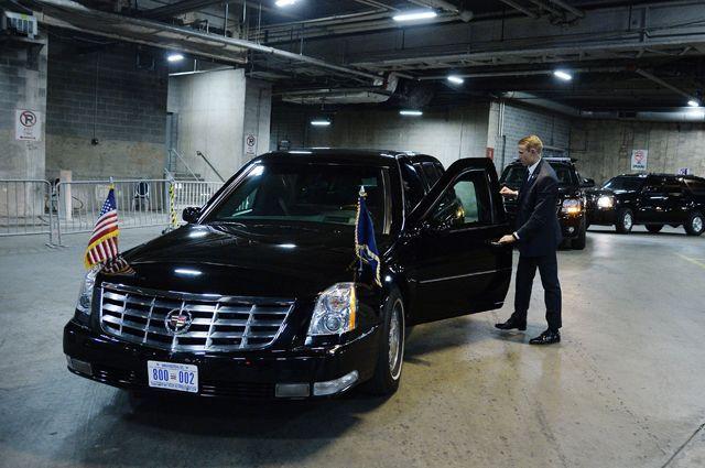 Автомобиль президента США «Зверь» (The Beast).