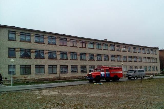 ВДобруше из-за пожара эвакуировали неменее 250 воспитанников средней школы