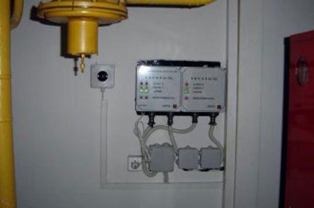 детектор загазованности для котельной