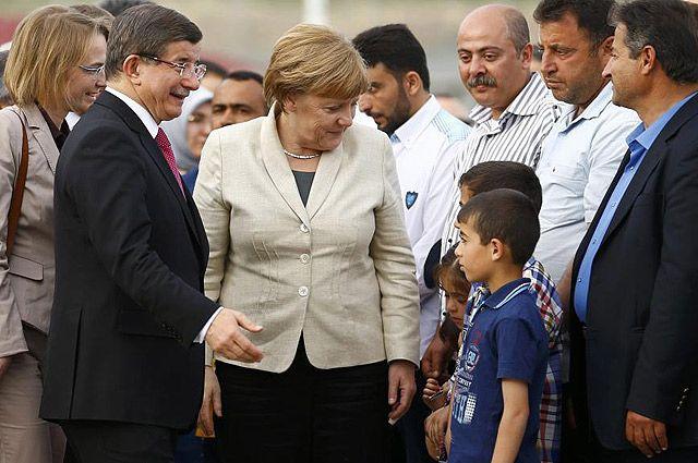 Дети беженцев - будущий электорат.