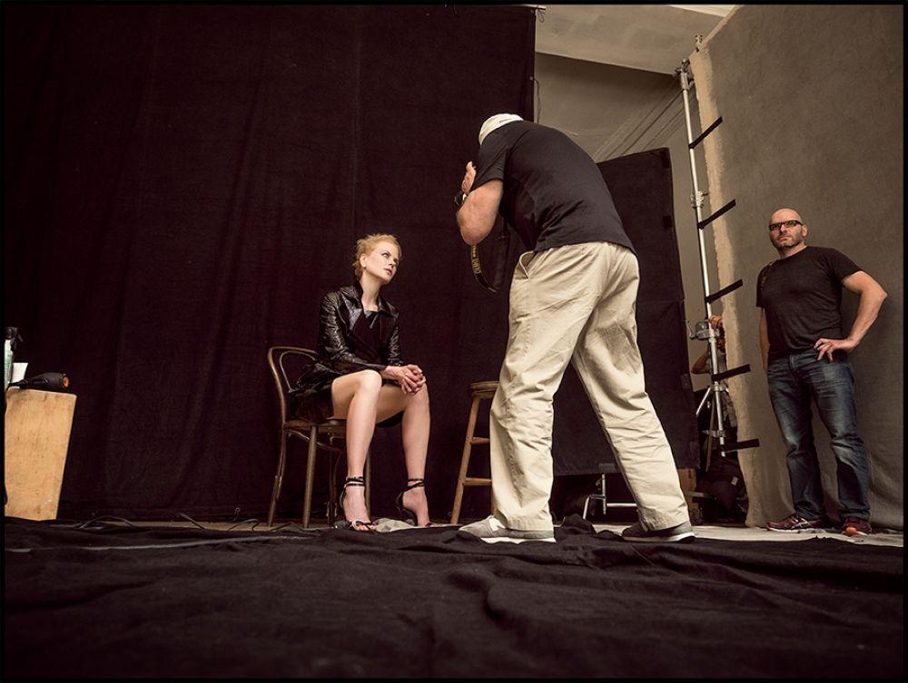 Николь Кидман. Студийная съемка в Лос-Анджелесе.