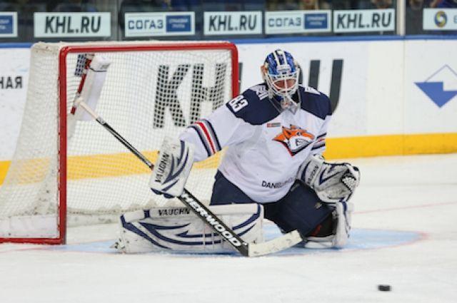 Минское «Динамо» проиграло магнитогорскому «Металлургу» вматче КХЛ