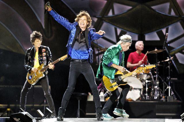 The Rolling Stones выпустила 1-ый альбом за11 лет