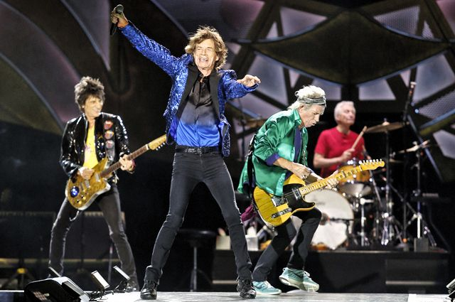 Концерт The Rolling Stones в штате Огайо летом 2015 года