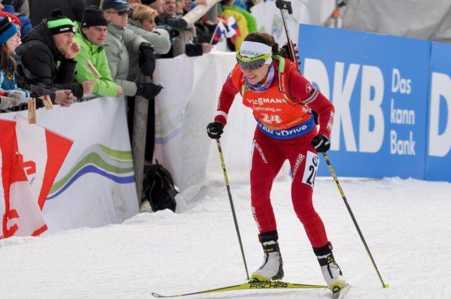 Женская эстафета приносит сборной государства Украины первую биатлонную медаль Кубка мира всезоне