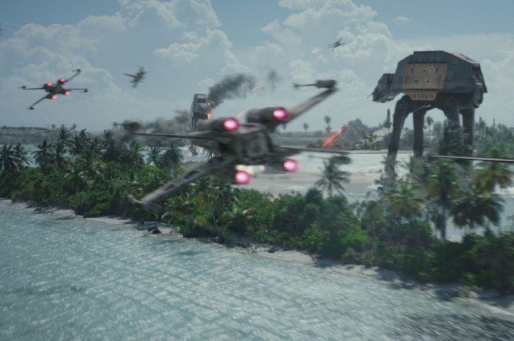 Также Industrial Light & Magic (ILM ) разработала визуальные эффекты и для фантастического блокбастера «Изгой-один: Звездные войны. Истории» — первого спин-оффа кинофраншизы «Звездные войны».