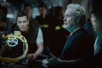 Фото со съемок научно-фантастического фильма ужасов «Чужой: Завет».