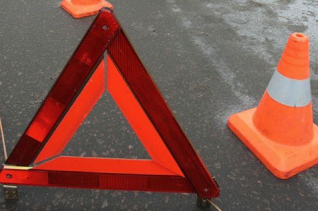 ВСлуцком районе перевернулась Тоёта - пассажир вреанимации, шофёр исчез