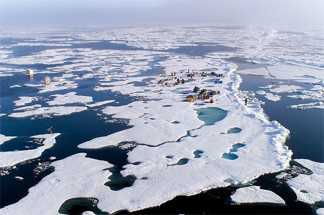 Таяние арктических льдов неминуемо скажется на уровне Мирового океана.