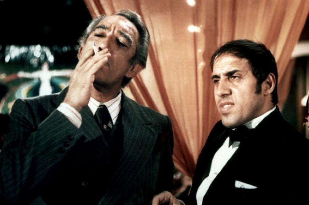 В 1976 году актер сыграл вместе с Энтони Куинном главные роли в криминальной ленте «Блеф» культового итальянского режиссер Серджо Корбуччи.