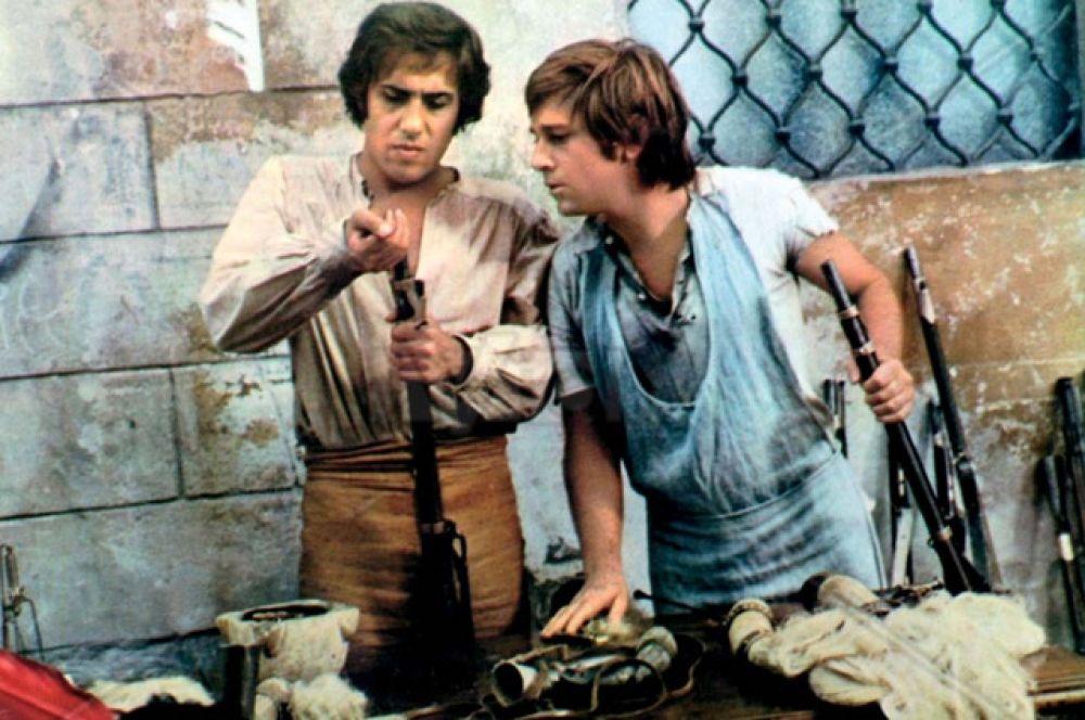 В 1973 году Челентано сыграл главную роль в военной трагикомедии режиссера Дарио Ардженто «Пять дней».