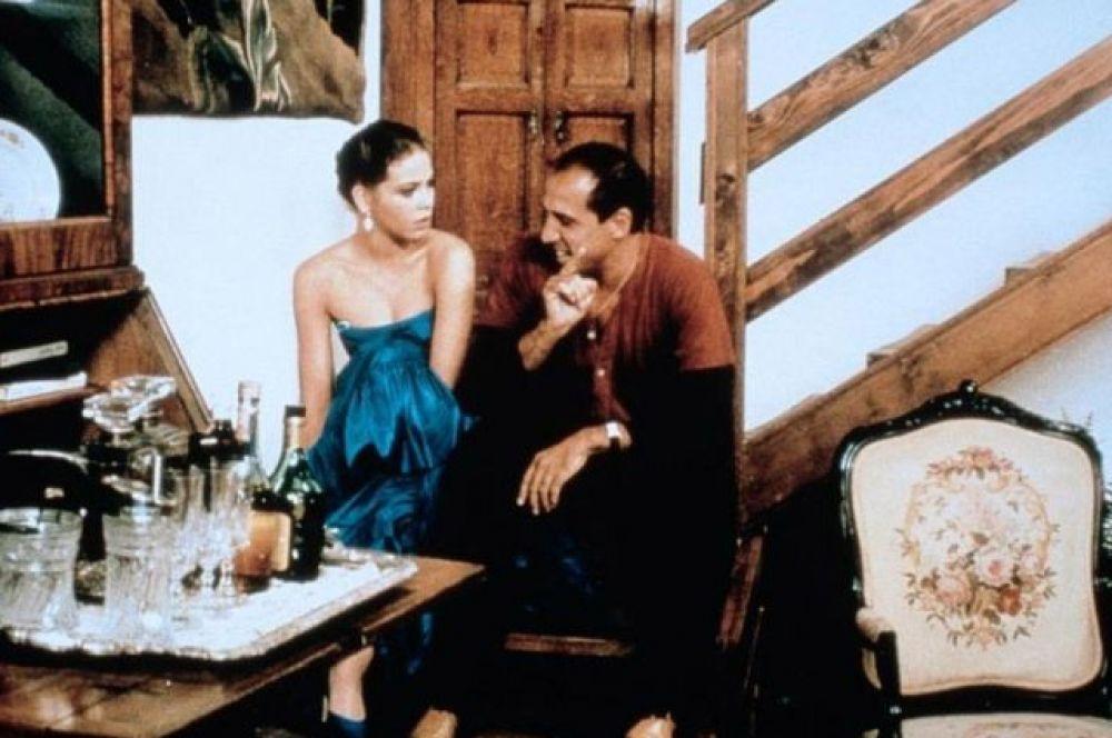 комедия «Укрощение строптивого» (1980 г.; вольная экранизация пьесы Уильяма Шекспира «Укрощение строптивой»), в которой актер сыграл с Орнеллой Мути,