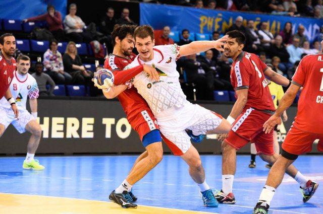 Белорусские гандболисты обыграли Саудовскую Аравию начемпионате мира