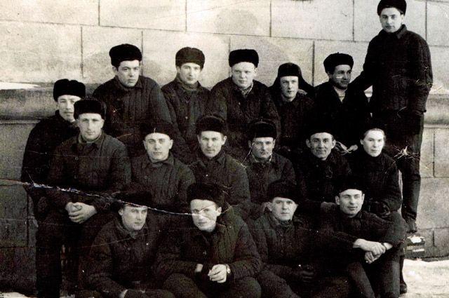 Студенты Белорусского института механизации сельского хозяйства – БИМСХ, ныне БАТУ.