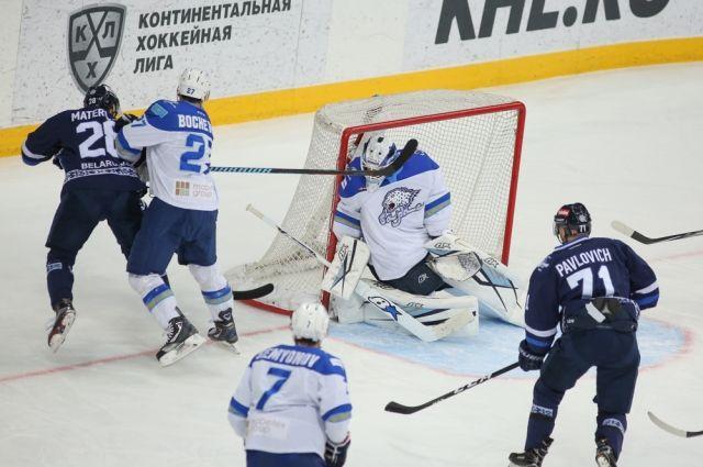 Минское «Динамо» обыграло астанинский «Барыс»