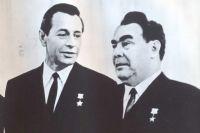 Петр Машеров и Леонид Брежнев.