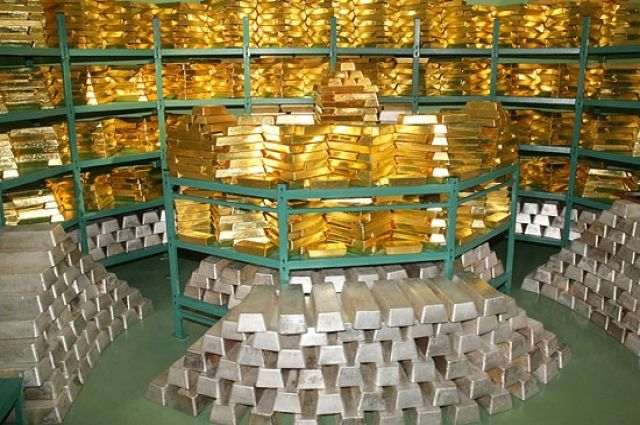 Золотовалютные резервы зимой увеличились на57,8 млн долларов