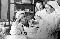 После войны Татьяна (в центре) долго работала в сельской больнице.