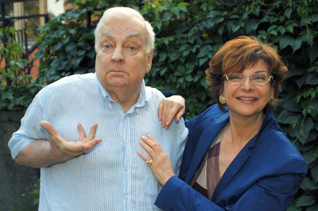 «МихМих» и Роксана Бабаян говорят о себе: «Мы - два хохмача! А без чувства юмора в семье никуда».
