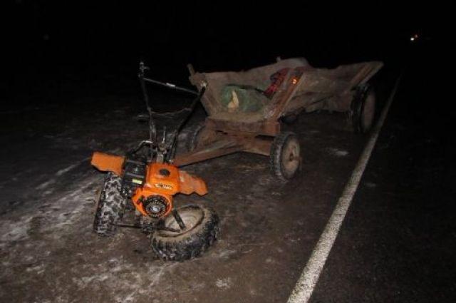 ВОстровецком районе Ауди переехал 29-летнего мужчину