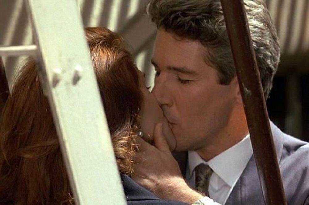 4 место – поцелуй Ричарда Гира и Джулии Робертс в «Красотке».